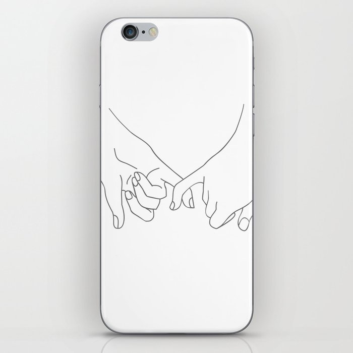 Pinky Promise iPhone Skin