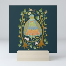 Bird on a Wire Mini Art Print