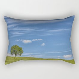 THE TREE ON THE HILL Rectangular Pillow