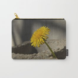 Dandelion That Grew From Concrete Carry-All Pouch