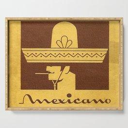 Mexicano - Vintage Cigarette Serving Tray