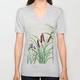 pond-side elegance Unisex V-Neck
