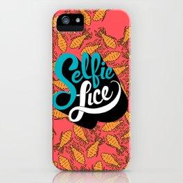 Selfie Lice iPhone Case