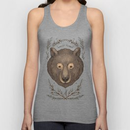 The Bear and Cedar Unisex Tank Top