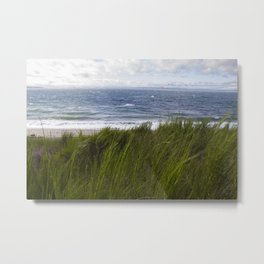 Wind and Sea Metal Print