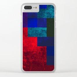 SLEEPING DEMON Clear iPhone Case