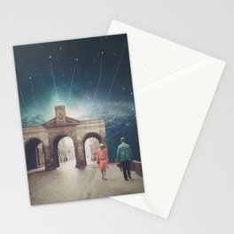 We met as Time Travellers Stationery Cards