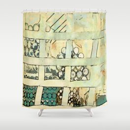 Irrigation Pipes  Shower Curtain