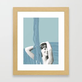 Showertime Framed Art Print