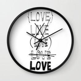 XLOVE Wall Clock