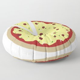 Pizza Time Floor Pillow