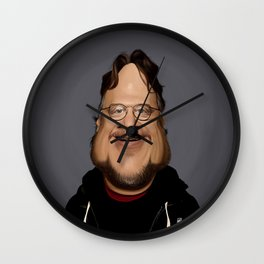 Guillermo Del Toro Wall Clock