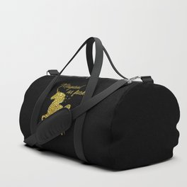 Magical As Fuck, Pretty, Funny, Quote Duffle Bag