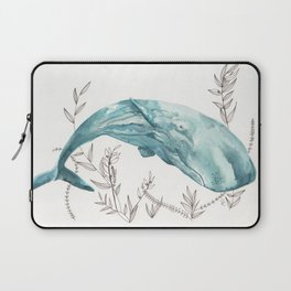 Sperm Whale Watercolor Laptop Sleeve