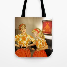 Daughter and Her Narcissistic Mother Tote Bag