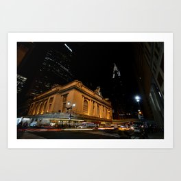 At the Corner of Park and 42nd Art Print