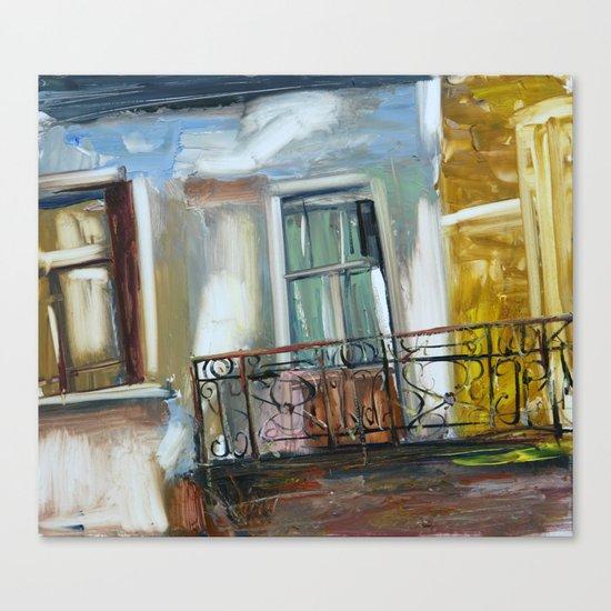 balconyIII Canvas Print