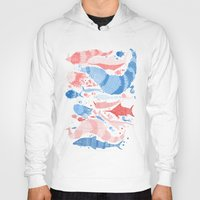under the sea Hoodies featuring Under the sea by Matt Saunders
