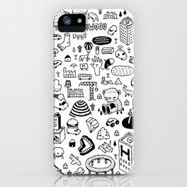 MIL-LOGOS iPhone Case