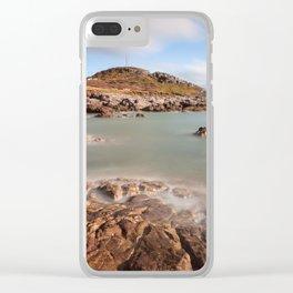 Limeslade Bay Swansea Clear iPhone Case