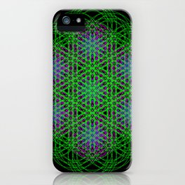 Trippin Circles iPhone Case