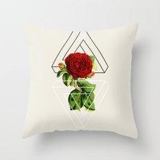 rose #society6 Throw Pillow