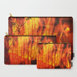 Forest Fires Carry-All Pouch
