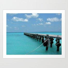 Caribean Sea Art Print