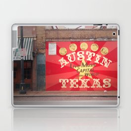 Live Music Capital of the World Laptop & iPad Skin