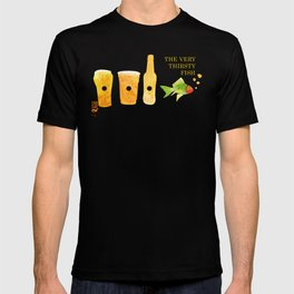 the very thirsty fish T-shirt