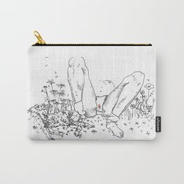Life in a Meadow Carry-All Pouch