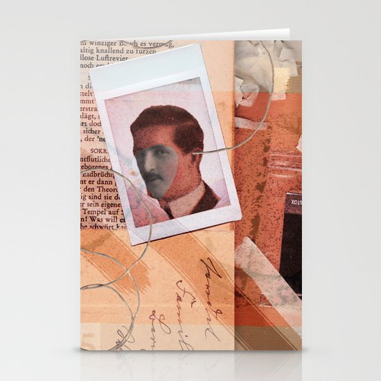 He Never Knew Stationery Cards