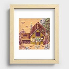 Stardew Valley - Hat Seller Recessed Framed Print