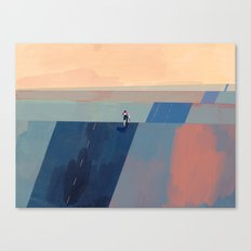 Keep Going - Blue Edition Canvas Print