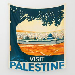 Vintage poster - Palestine Wall Tapestry