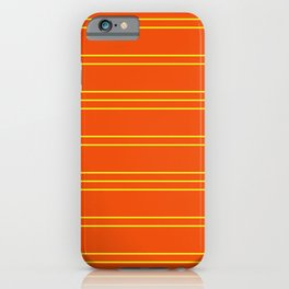 Simple Lines Pattern oy iPhone Case