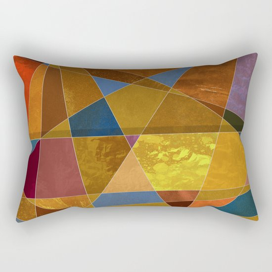 Abstract #331 Rectangular Pillow