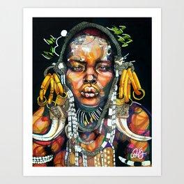 Wakanda '98 Art Print