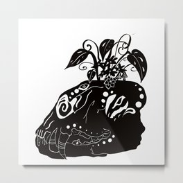 Nature witch Metal Print