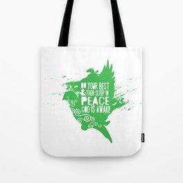 Sleep in Peace Tote Bag