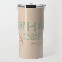 Cowhand Coffee - Mint, Mauve & Cream Travel Mug