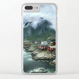 Lofoten Landscape - Norway Clear iPhone Case