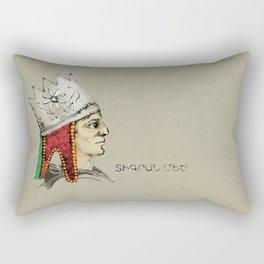 Tigranes the Great . Tigran Mets(Armenia) Rectangular Pillow