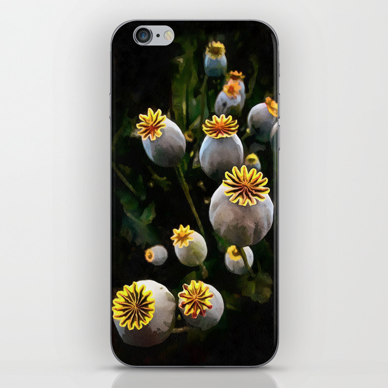 Poppy Seed Pod Iphone Skin By Aaenskacholpanova Society6