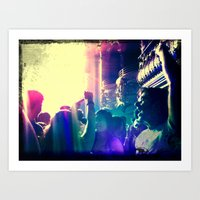 concert Art Prints featuring Concert by GB Street