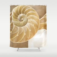 shells Shower Curtains featuring Shells by Manda's Photography