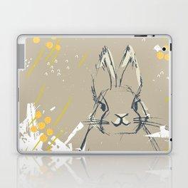 Bunny Portrait M+M Latte by Friztin Laptop & iPad Skin