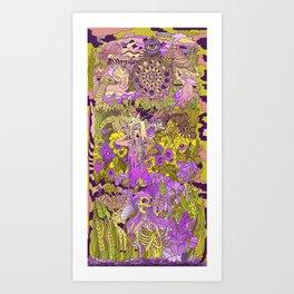 Garden Pansy Art Print