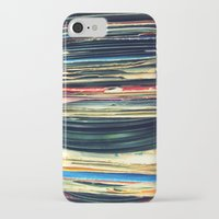 music iPhone & iPod Cases featuring put your records on by Bianca Green