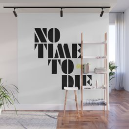 No Time To Die Wall Mural